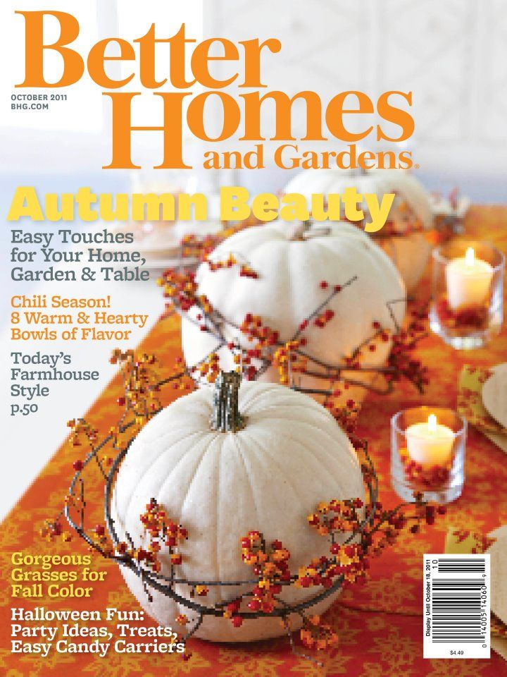 Better Homes And Gardens Halloween Issue