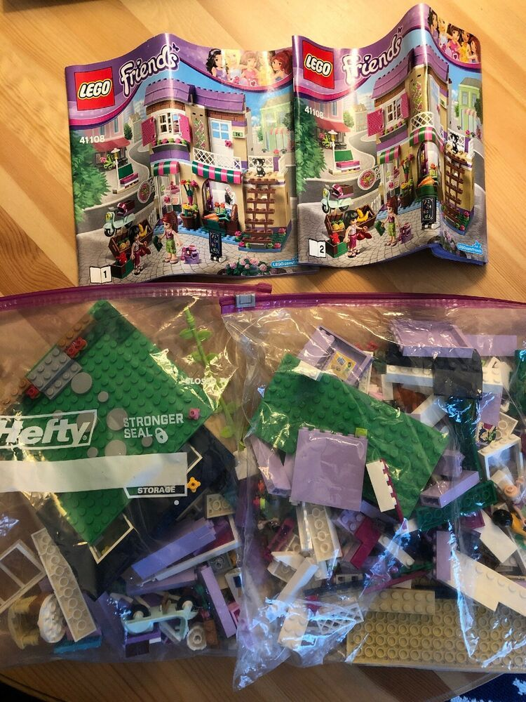 Lego Friends Heartlake Food Market Set 41108 With Instructions No