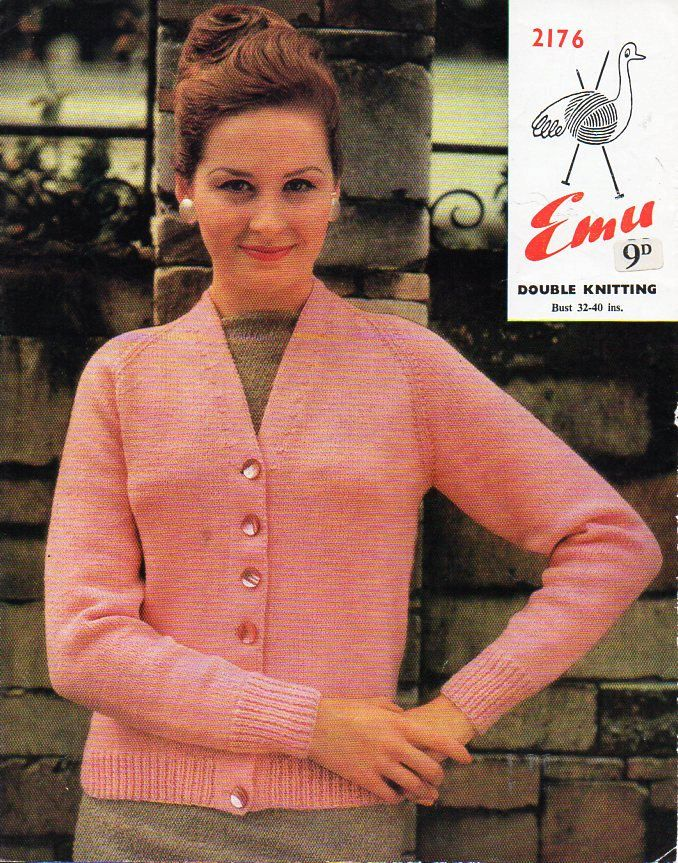 Womens Dk Classic Cardigan Knitting Pattern Pdf Womens Jacket V Neck