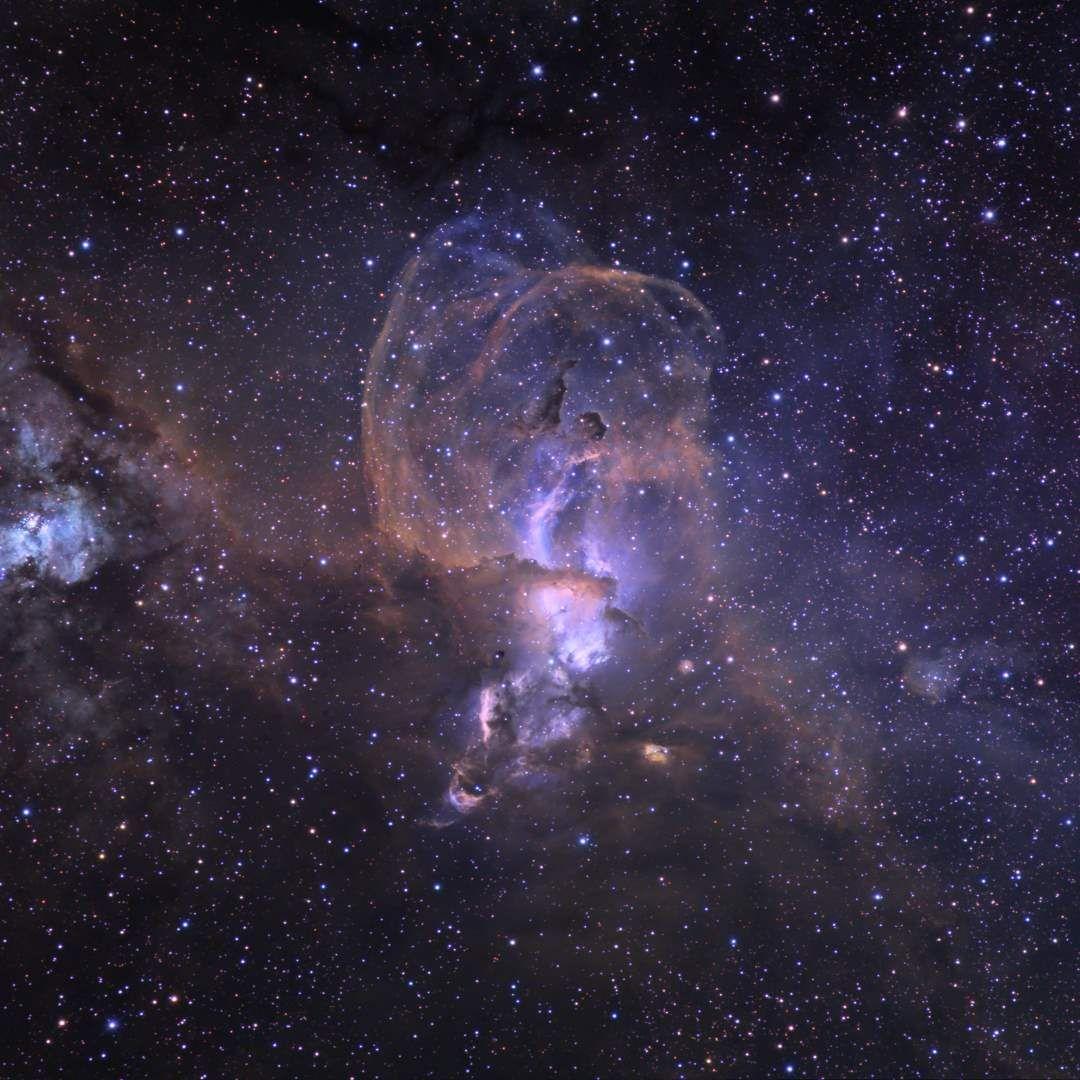 Resultado de imagen de Fotografía astronómica en falso color