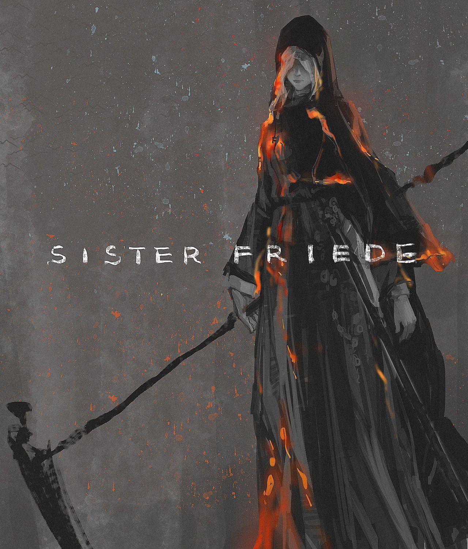 Sister Friede Dark Souls Dark Souls Art Dark Souls 2