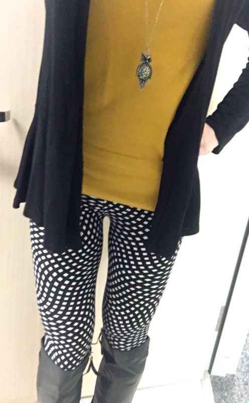 NWT Lularoe Tall & Curvy Black and White Diamond Leggings Unicorn ...