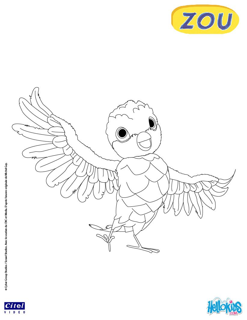 Poc online coloring page