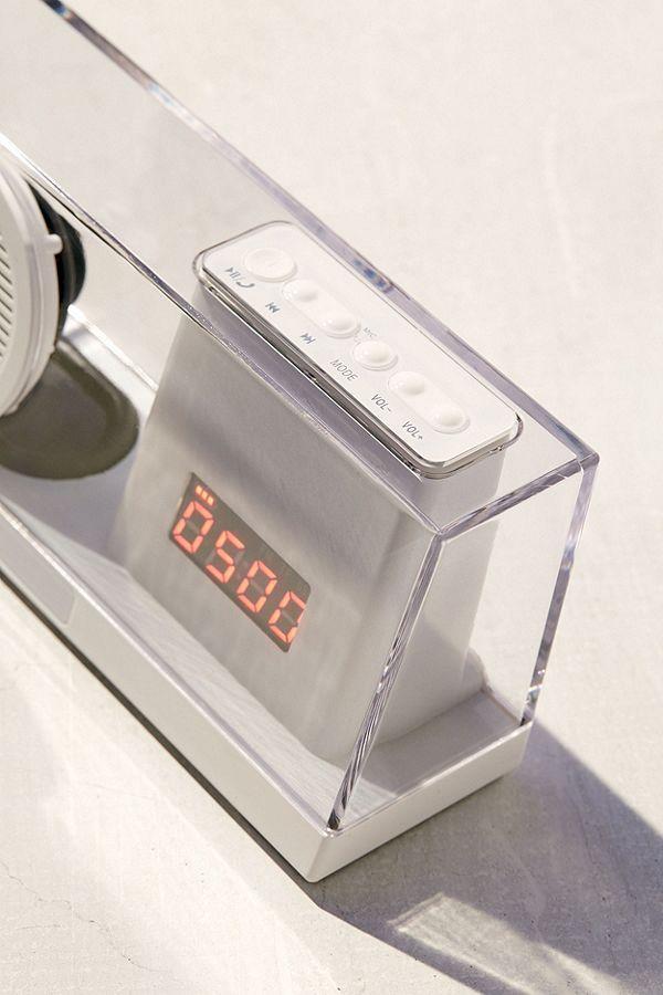 Clear Bluetooth Speaker Desk Clock Desk clock - küchen mit bar