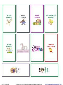 FREE set of miniature chocolate candy bar wrappers for April ...