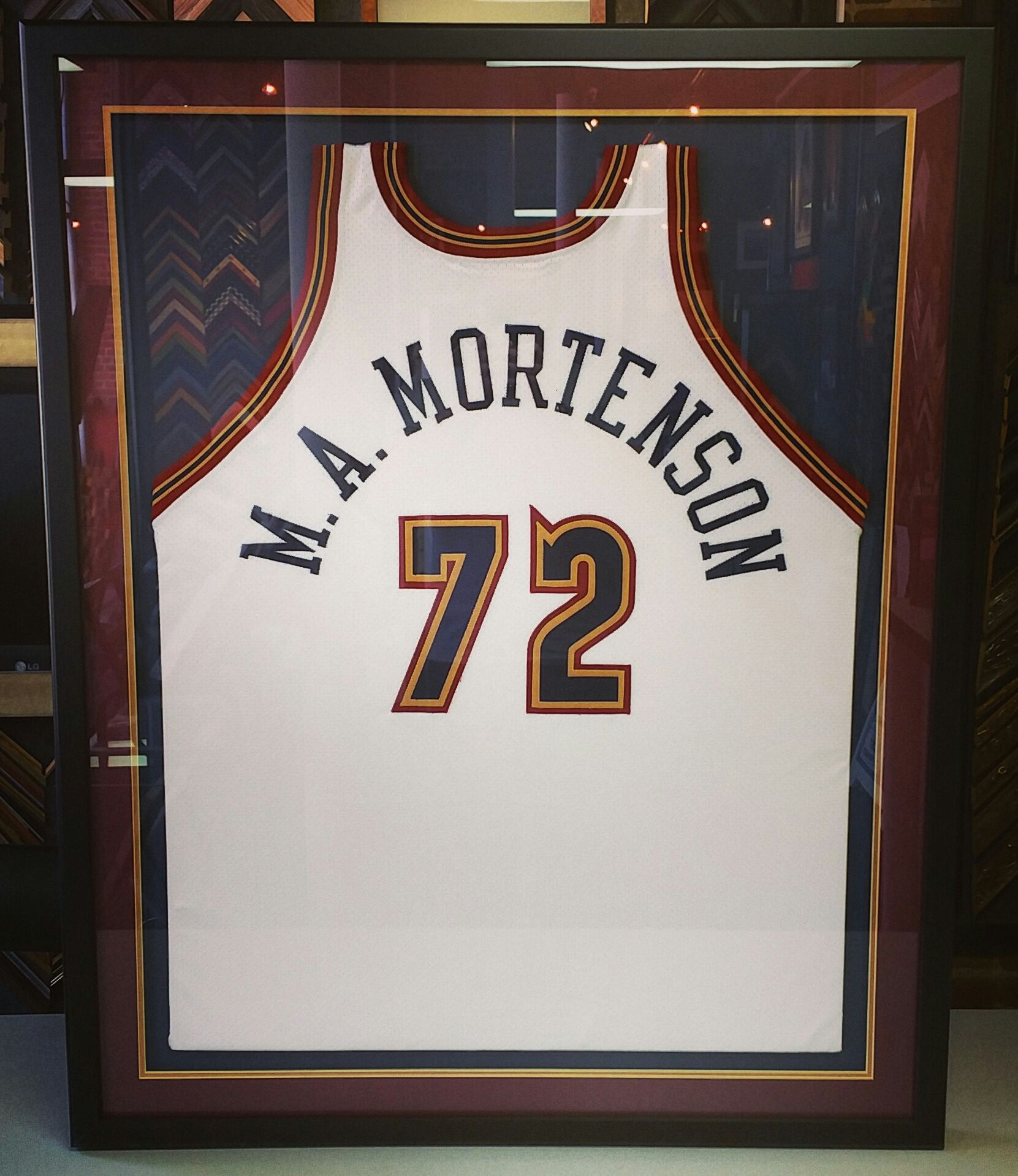 Jersey 4 of 5 out the door for Mortenson Construction! Come see us ...