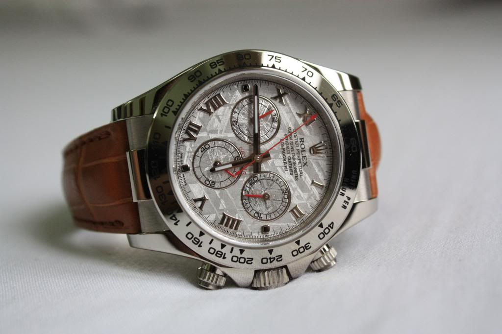 The Rolex Daytona 116519 (Meteorite Dial) Review and my