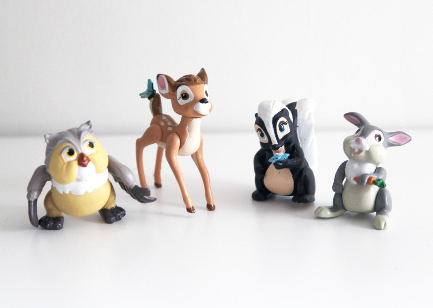 McDonald\'s Bambi Happy Meal toys [4/4] (1988) | When I Was A Kid ...