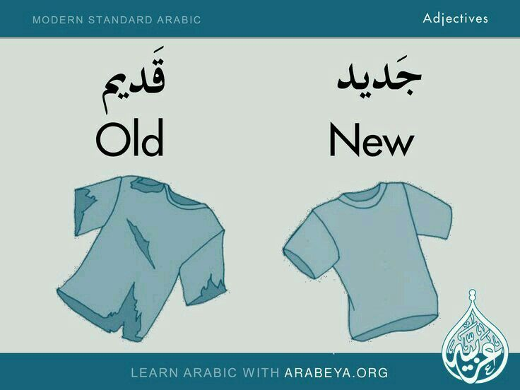Arabic Adjectives More