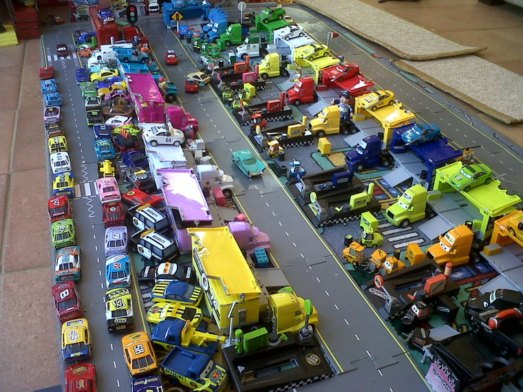 1 Our Collection Based Around A Race Track Diorama Disney Pixar Cars The Toys Disney Pixar Cars Disney Cars Race Track