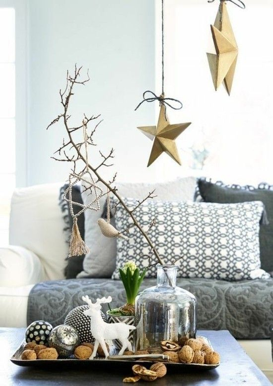99 ideas para decoraciones navideñas escandinavas