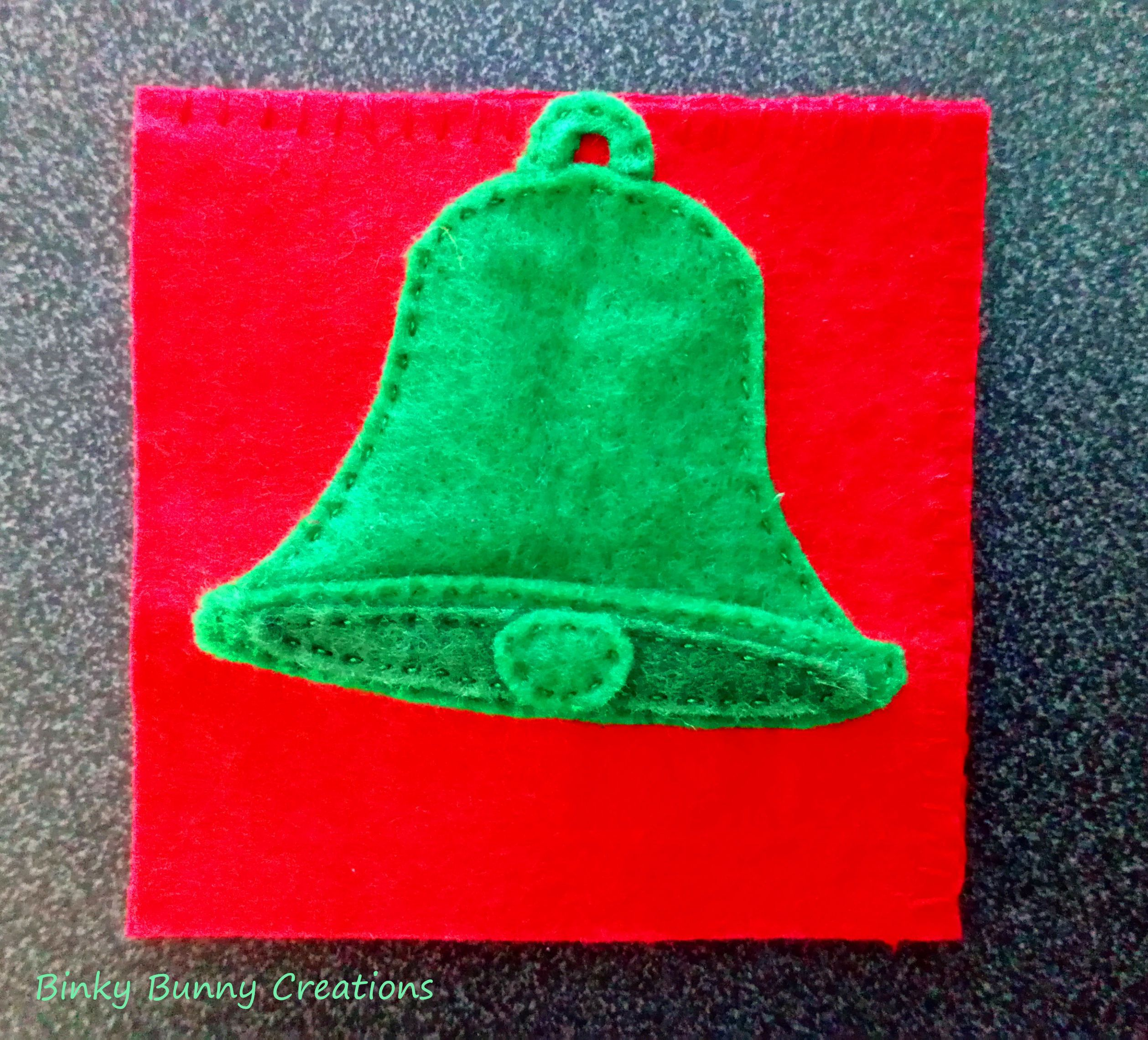Christmas Bell Corner Bookmark