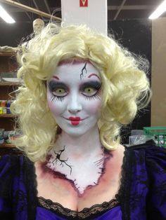 creepy doll costume - Google Search   creepy dolls   Pinterest ...