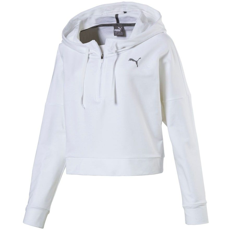 b13d0365affa Women s PUMA Cropped French Terry Hoodie