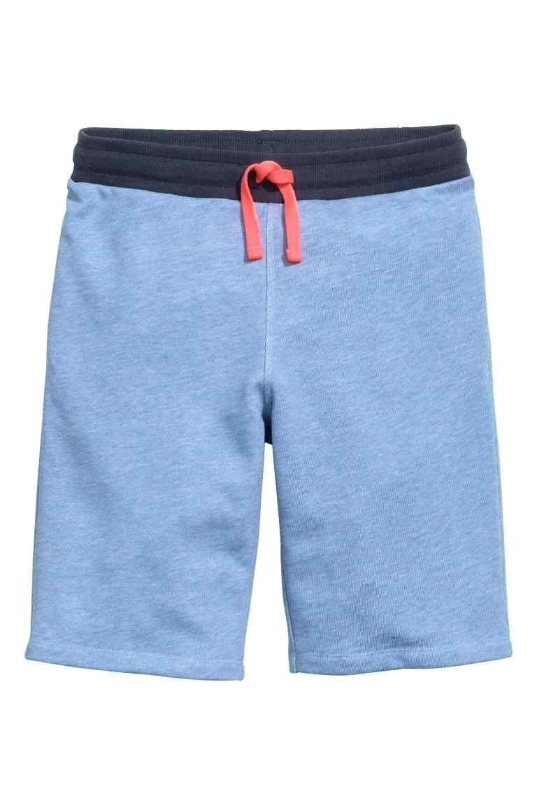 8178dff7df Shorts in felpa - Blu mélange - BAMBINO