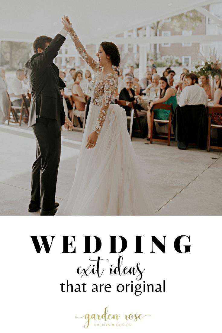 Wedding exit ideas Wedding send off ideas
