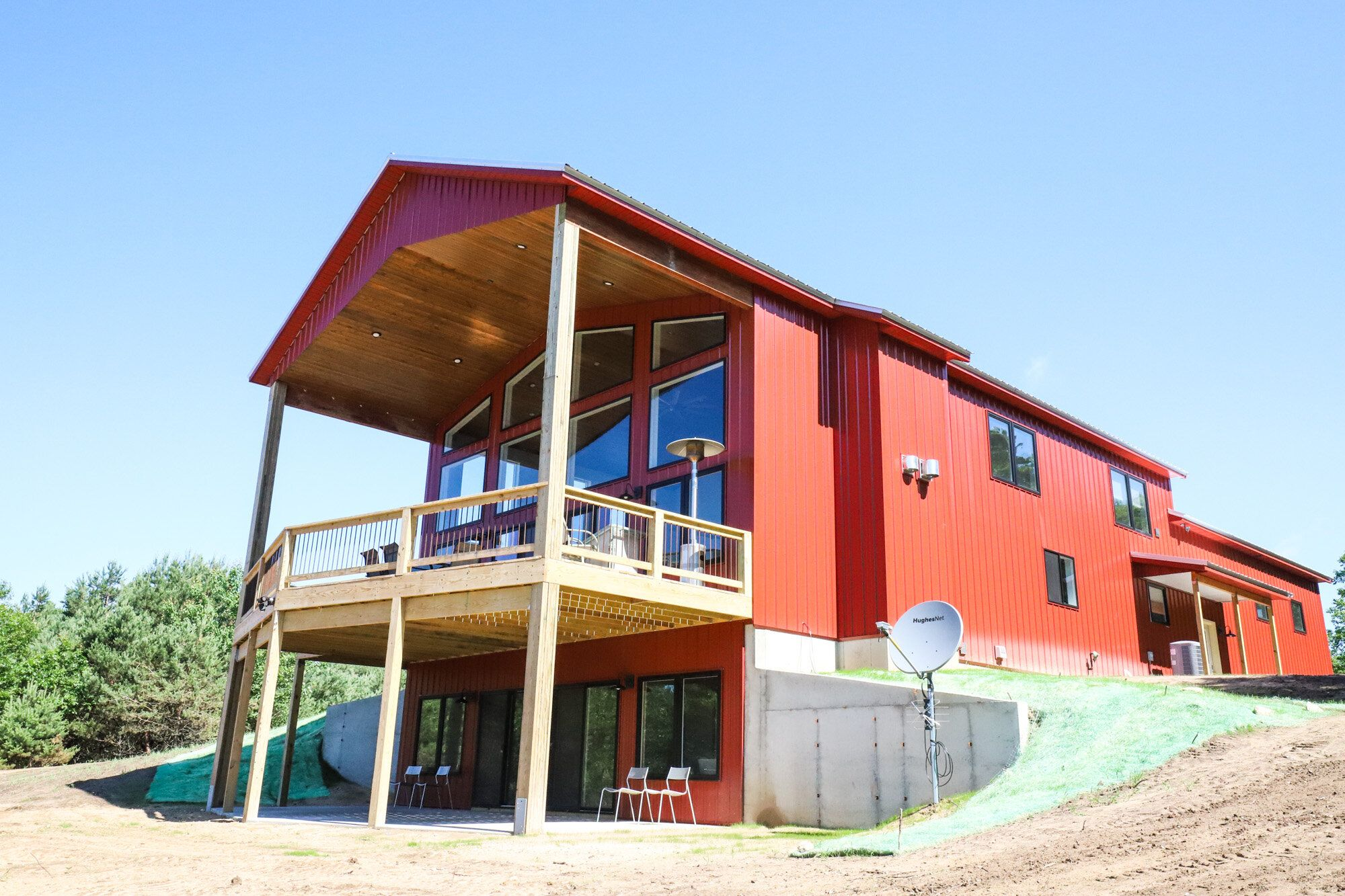 Hilltop Hideaway — Pole Barn Living