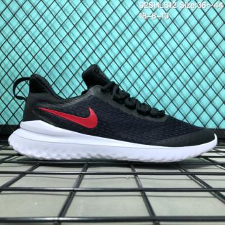 fba8f5e01da6 Mens Womens Casual Sneakers Nike Revolution 4 Black Red White