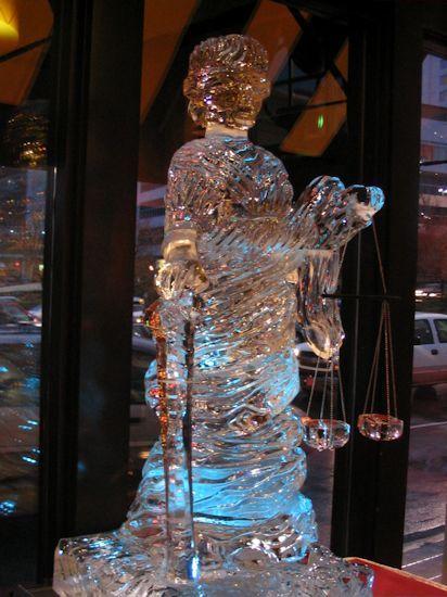 Atlanta Ice Sculptures The Law