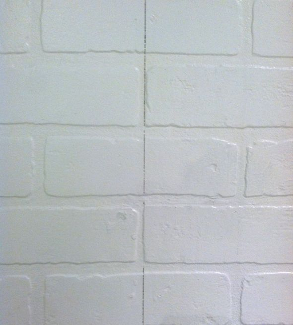 Faux brick hardboard wall panels diy pinterest