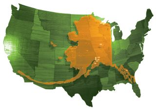 Compare The Actual Size Of Any Two Parts Of The World With An - Ak overlap us map