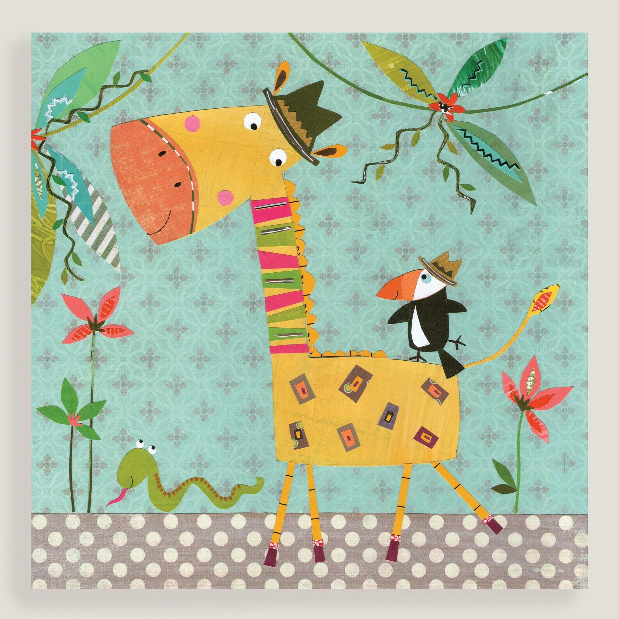 Giraffe and Toucan Wall Art | World Market