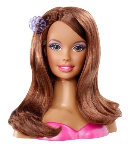 Barbie Doll Head You Could Fix Her Hair And Do Her Makeup Played With This Thing Forever Belinda Barbie Styling Head Barbie Doll Head Barbie