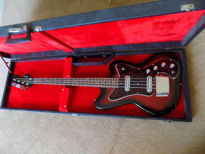 Silvertone Vintage 60 S Bass Ohc Mark S Gear Garage Reverb In 2020 Bass Silver Tone Vintage