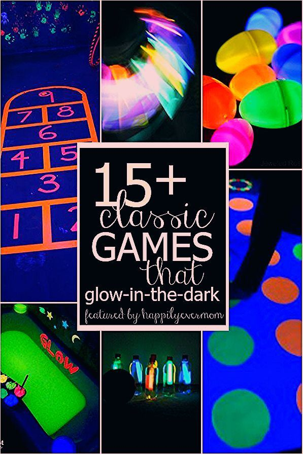 Photo of 15+ Classic Glow in the Dark Games for Kids – Happily Ever Mom