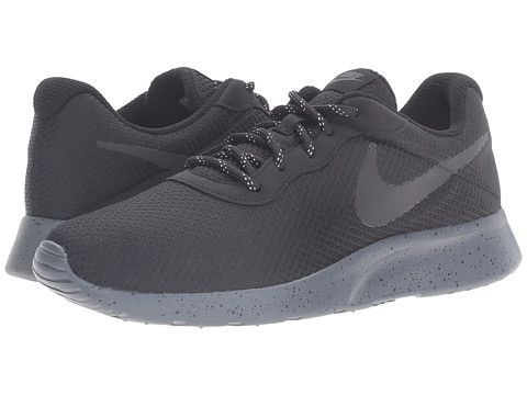 Nike Tanjun SE Black Black Dark Grey - Zappos.com Free Shipping BOTH Ways 4e27c79535