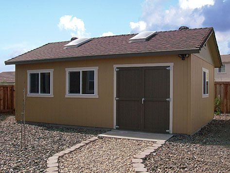 Our Top Of The Line Ranch Style Storage Building Is Large In Stature With  The Tallest