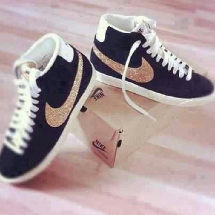 .nike // blinged out. drooling!