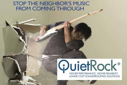 Quietrock Drywall 1 Sheet Has The Same Sound Protection Of 8 Sheets Of Standard Drywall Will Be Using This Garage Conversion Recording Studio Sound Proofing