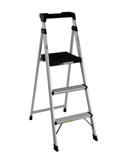 Cosco 20 552abl Lite Solution Aluminum Step Ladder 5 Foot Step Ladders Aluminium Ladder Best Ladder