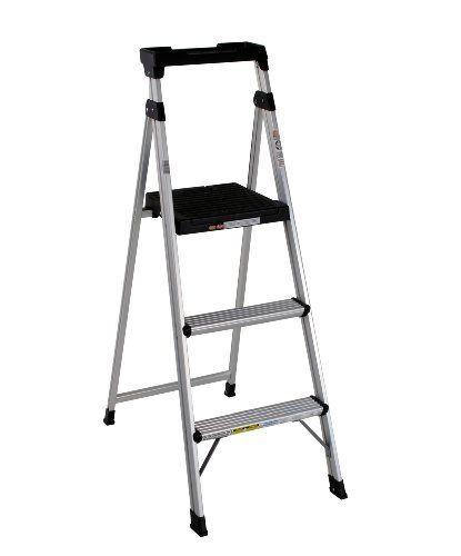 Cosco 20 552abl Lite Solution Aluminum Step Ladder 5 Foot Step Ladders Aluminium Ladder Best Ladder