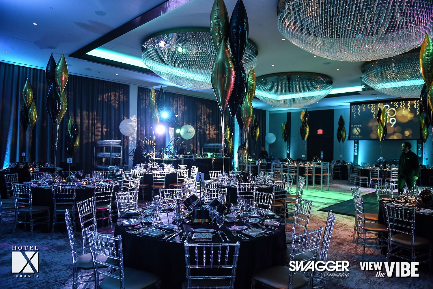 Inside The Hotel X Nye Party Hosted By The Opulent Club X Swagger