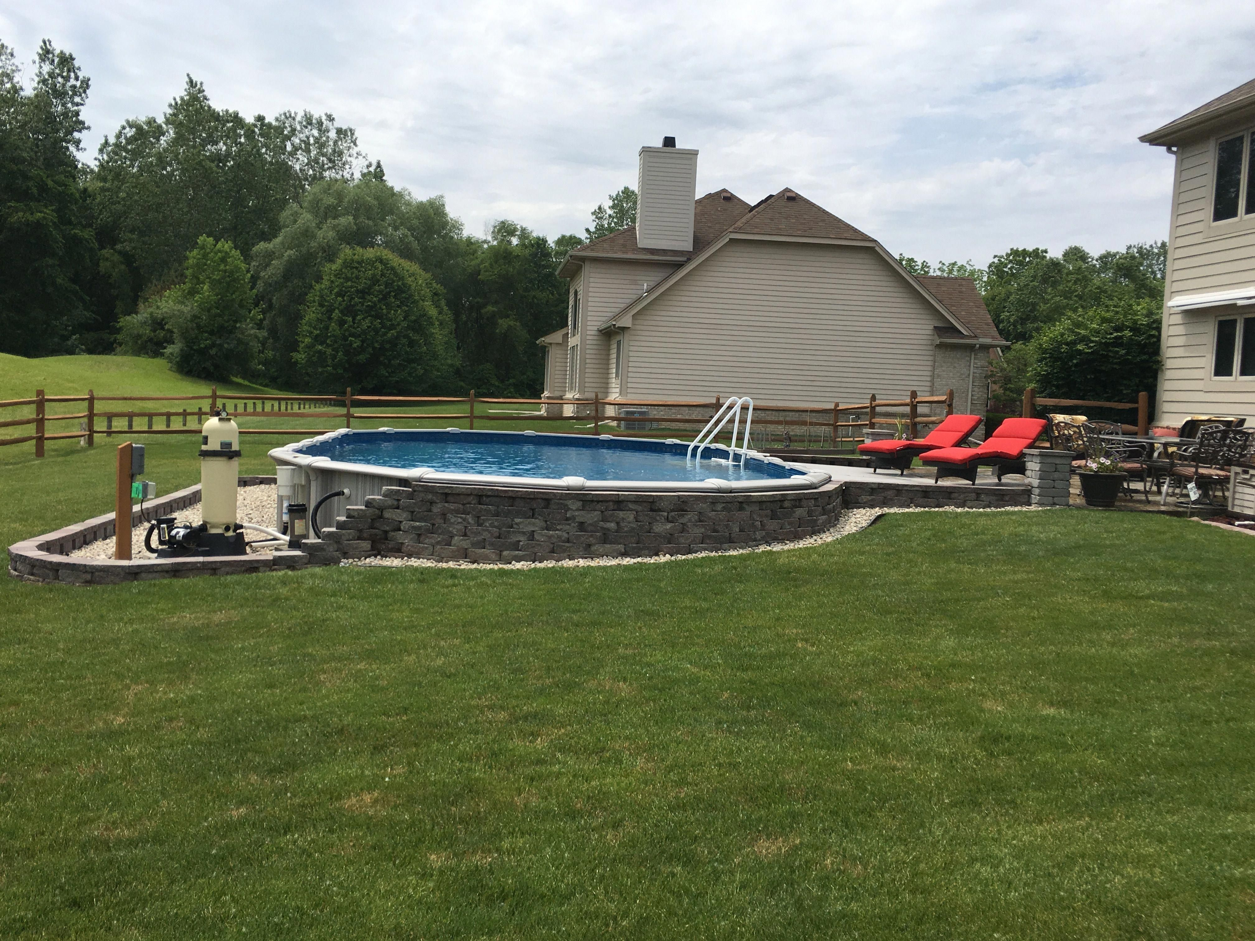 Divingplatformtips Backyard Pool Landscaping Backyard Pool Pool Landscaping Backyard landscaping ideas with above ground pool