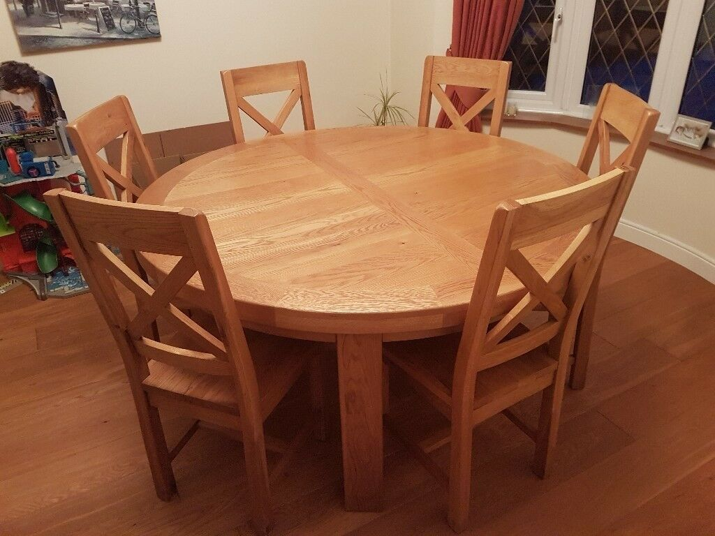 6 Chair Wooden Dining Table Round Wood Dining Table Round Dining Table Sets Large Round Dining Table
