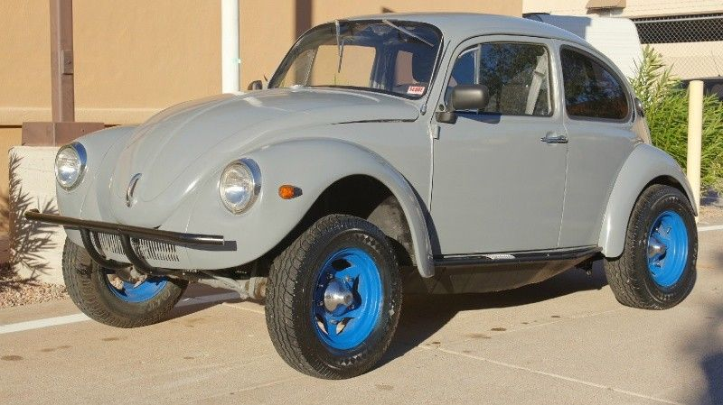 Volkswagen Baja Bug on Dune Buggy Chassis, 1600CC Dual Port