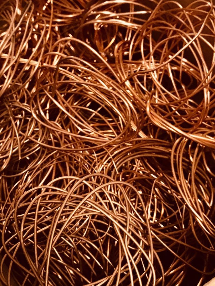 16 Oz Scrap Copper Wire Bare Bright 1 Jewelry Making Crafts Forging Recovery Ebay Copper Wire Copper Crafts To Make