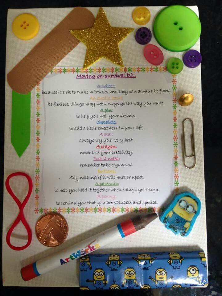 P7 Leavers Gift Idea Teaching Ideas School Resources