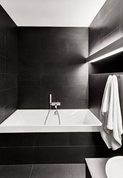kleine badkamer verlichting - Badkamer | Pinterest - Badkamer ...