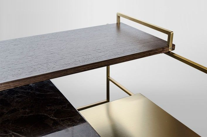 Tall couchtisch holz marmor metall gold 004 tables for Couchtisch metall marmor