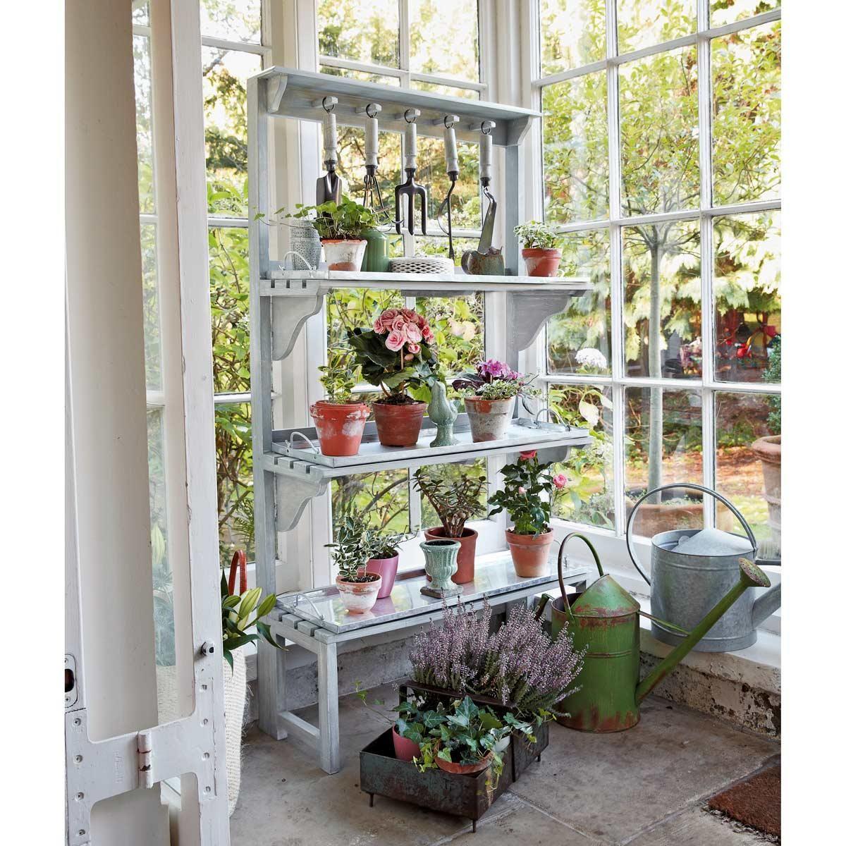 Metallregal B 80 Cm Flora Maisons Du Monde Haus Deko Garten Deko Deko