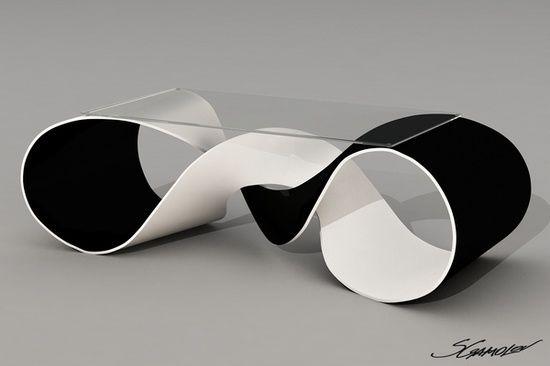 wonderful futuristic metal furniture design | DAAN MULDER, silver, futuristic furniture, bed, sofa ...