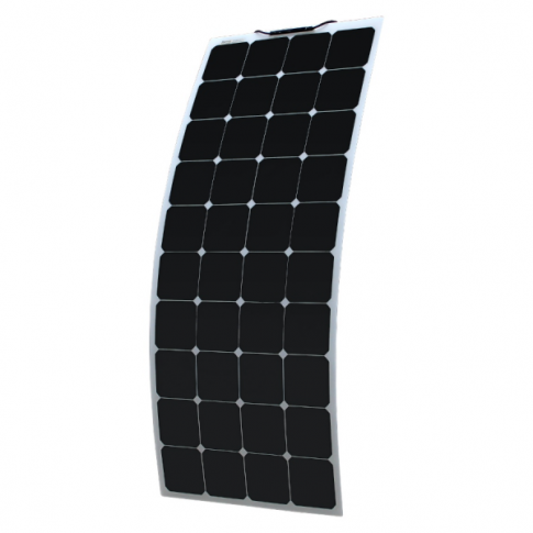 120w Flexible Solar Panel Made Of Back Contact Cells For Motorhome Caravan Camper Rv Boat Flexible Solar Panels Solar Solar Panels