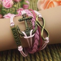 Elegant Romantic Cupid's Arrow Braided Retro Bracelet  ,check it out beautiful bracelets in this site!