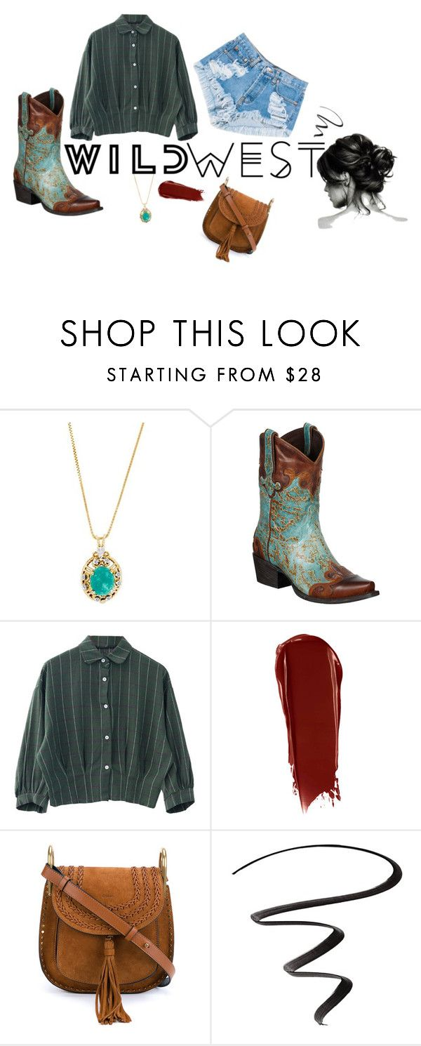 """""""Wild West"""" by resilient-tophat ❤ liked on Polyvore featuring Levi's, NARS Cosmetics, Chloé, L'Oréal Paris, country, festival, festivals, festivalwear and wildwest"""