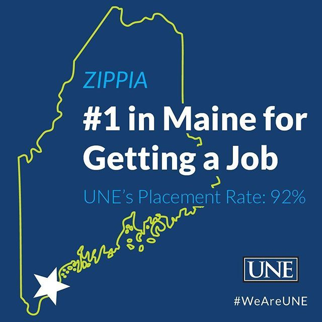 UniversityofNewEngland ranked best college in Maine for