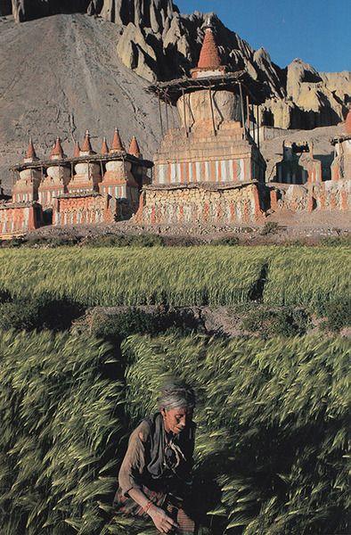 Mustang, Nepal National Geographic November 1997   Robert Caputo.